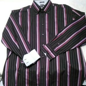 Tommy Hilfiger Mens 80s 2ply Cotton Button Down Lg